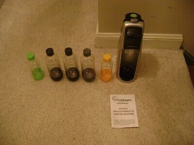 SodaStream Carbonating Soda Maker Machine With Bottles No CO2