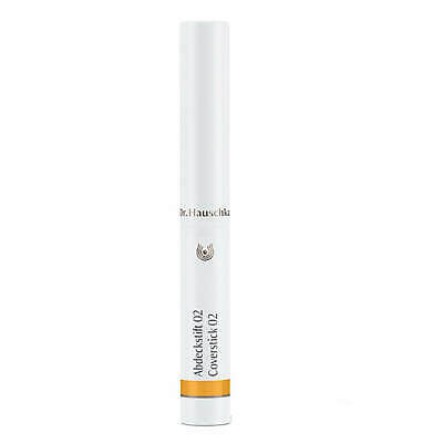 Dr. Hauschka Cover Stick - 02 Beige 2g - Exp 02/21  #3590 NEW DAMAGED BOX