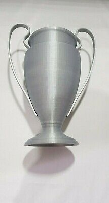 Wholesale Football trophy Silver and Black Type 4 20cm tall or 25cm with base
