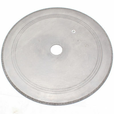 Arbor 16mm 300mm Lapidary Diamond Saw Blade Notched Rim1.5mm Rock Slab for store