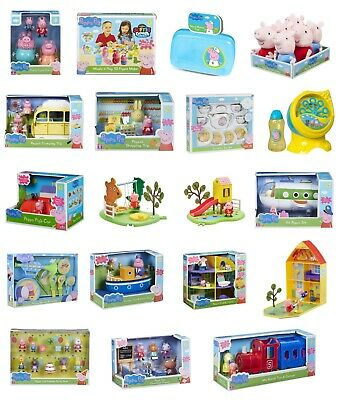 Peppa Pig Toy Play Set - Figures Playsets Plushies - Pepper Pig Toys for Kids