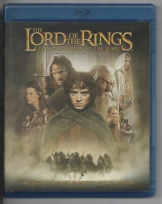 The Lord of the Rings - The Fellowship of the Ring (Blu-ray, 2 Discs Canadian)