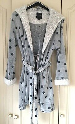 Primark Girls Luxury Dressing Gown Robe Age 10/12 Years Grey Mix. EUR 38/40