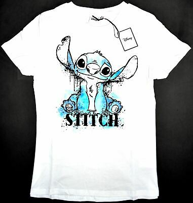 Disney STITCH /& LILO MONDAY to SUNDAY Ladies T-Shirt Tee Top Womens Bnwt Primark