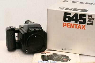 Pentax 645 medium format body only, great condition BOXED