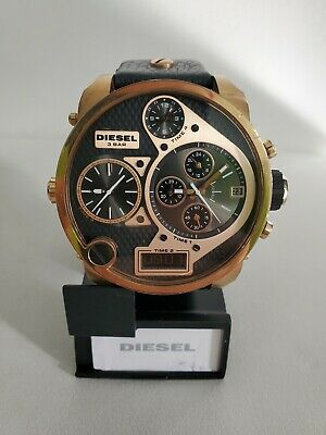 Diesel DZ7261 Rose Gold tone Men's Watch the Mr Daddy 58 mm four time chrono.