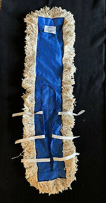 """NEW Old Stock - FULLER 36"""" Long x 5"""" Wide Cotton Dust Mop Head Pull On"""