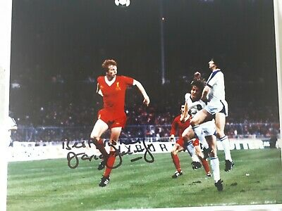 DAVID  FAIRCLOUGH   SIGNED  LIVERPOOL  8  x  10   PHOTOGRAPH   FROM  THE  1970s