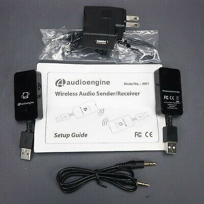 Audioengine AW1 CD Audiophile Quality USB Wireless Audio Sender & Receiver