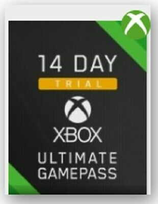 Xbox Game Pass Ultimate 14 Day Trial (Only New Accounts) Solo Nuevas Cuentas