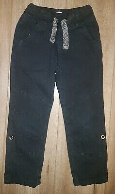 F&F Boys 100% Cotton Trousers. Age 5-6 Years