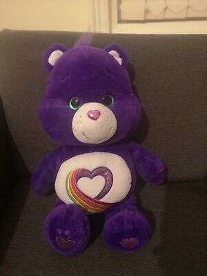Care Bear Rainbow Heart Teddy Bear Plush Toy Very large