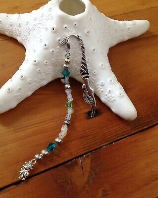 Hanmade Mermaid Bookmark Silver Toned