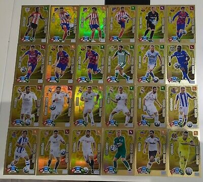 Supercrack Adrenalyn Xl Liga 2019 2020 Individuales Lote 24 Cards