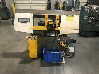 """Clausing Startrite HB250A 10"""" x 18"""" Horizontal Band Saw w/ Coolant System"""