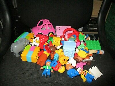 Lego Duplo people animals and pieces