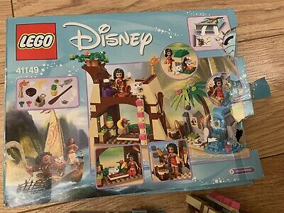 LEGO Disney Moana's Island Adventure (41149) In Box With Instructions COMPLETE