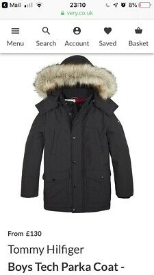 Tommy Hilfiger Boys Coat age 12 worn 2 times! Cost £150 completely sold out.