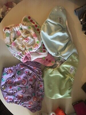 Baby Clothe Diaper Covers Nora's Nursery, Plumps, Rumps Look Lot Of 4