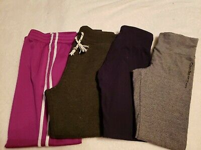 Justice, Calvin Klein: Lounge/Leggings/Athletic Girls Sz 10-12 (Lot of 4)