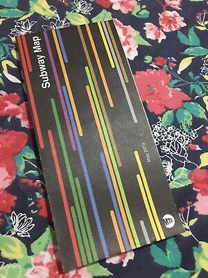 New York City MTA NYC Subway Map May 2019, Latest Edition, Pre Owned