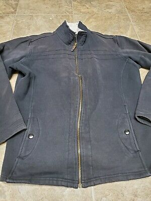 Columbia Sportswear Womens XL Full Zip Jacket Cotton And Polyester