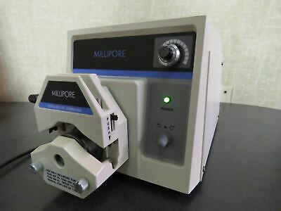 Millipore XX8200115 Peristaltic Lab Pump w/ XX80EL005 Head 6-600RPM