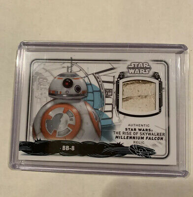 2019 Topps Star Wars Rise Of The Skywalker BB-8 Millennium Falcon Prop Relic /15