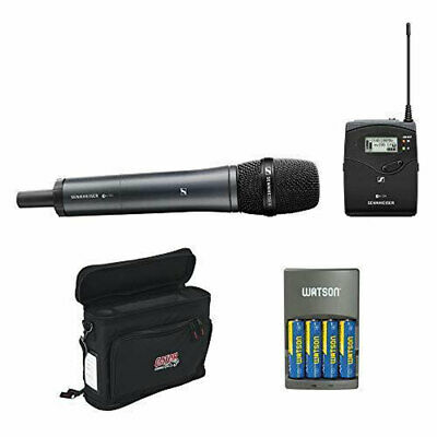 Sennheiser ew 135P G4 Microphone System w/ 835 Microphone, Mobile Pack & Charger