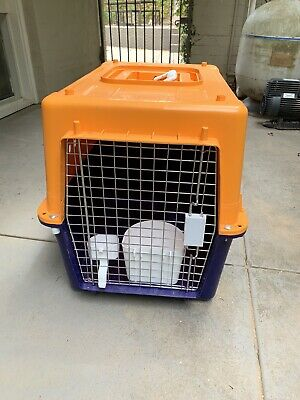 Pet Dog Cat Carrier Portable Tote Crate Kennel Travel Carr Cage Airline Approved