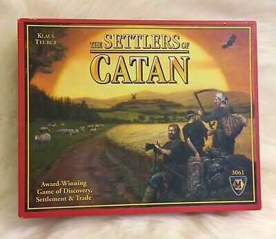 THE SETTLERS OF CATAN BOARD/CARD GAME 3061 Good Condition Complete