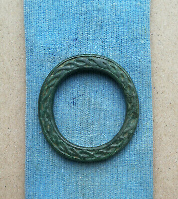 "Ancient Viking Bronze pendant AMULET ""SUN"" GREAT SAVE VERY RARE ORNAMENT"