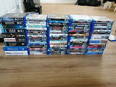Blu Ray & DVDs - Clear Out