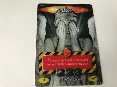Doctor who Battles in time invader ultra Rare cards