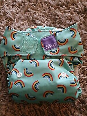 Rainbow Bambino mio all in one nappy (PRELOVED)