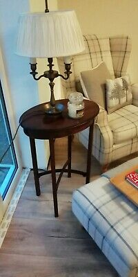 Victorian Antique Mahogany Carved Side Wine /Occasional /Hall Table