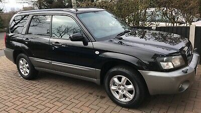 2003 Subaru Forester 2.0 X Auto AWD All Weather Pack Black Silver Two Tone