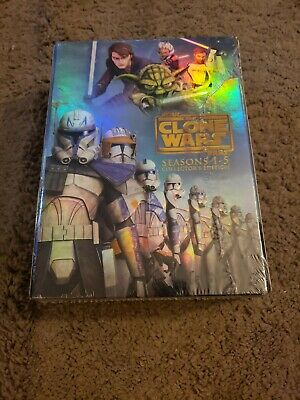 Star Wars: The Clone Wars - The Complete Seasons 1-5 (DVD, 2013, 19-Disc Set, C…
