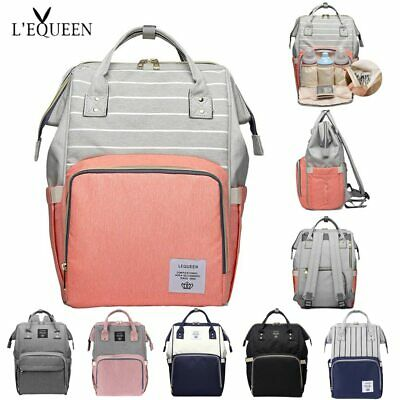 Nappy Diaper Bag Large Capacity Travel Backpack Baby Care Mom Convenient Bag