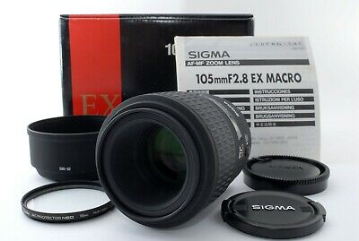 #120 SIGMA AF 105mm F/2.8 EX MACRO for SONY Minolta Lens Excellent+ From Japan