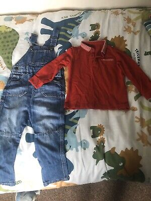 Boys Next Dungarees Age 2-3