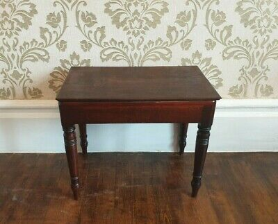 A 19th Century Mahogany Stool
