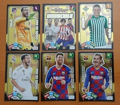Balones De Oro Nuevos Invencible Supercrack Adrenalyn Xl Liga 2019 2020 Panini