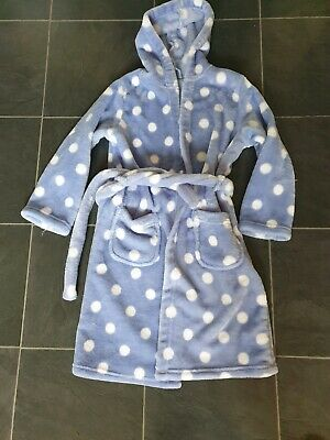 Girls dressing gown Age 7-8 M&S