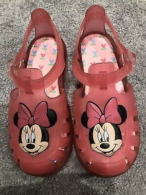 Girls Minnie Mouse Sandals