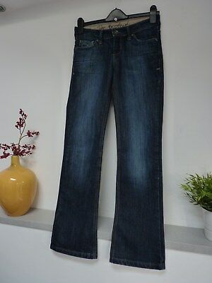 "Ladies Lovely Next Dark Blue Wash Bootcut Jeans Size 8, 29""w x 30""L, Vgc"