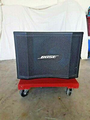 Bose Panaray MB12 Professional Modular Bass Loud Speaker Black