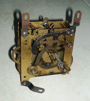 """""""12"""" vintage striking clock movement for parts, spares or repair."""