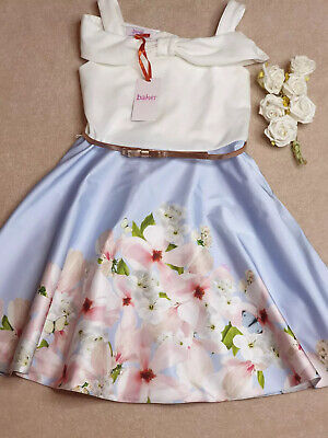 Girls Ted Baker Dress Age 10 Beautiful