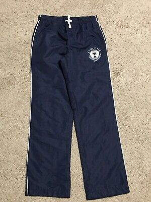 The Children's Place Tcp Boys Navy Athletic Fully Lined Wind Pants Sz 14 Slim Ln